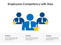 Employees Competency With Stars