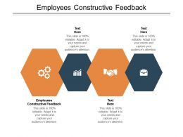 Employees Constructive Feedback Ppt Powerpoint Presentation Infographic Template Samples Cpb