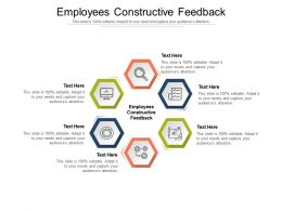 Employees Constructive Feedback Ppt Powerpoint Presentation Inspiration Influencers Cpb