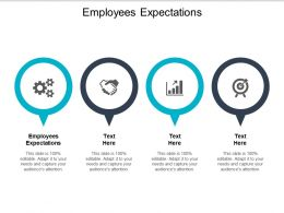 Employees Expectations Ppt Powerpoint Presentation Model Visuals Cpb