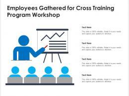 Employees Gathered For Cross Training Program Workshop