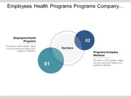 Employees Health Programs Programs Company Wellness Diversity Strategies Cpb