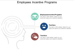 Employees Incentive Programs Ppt Powerpoint Presentation Professional Show Cpb