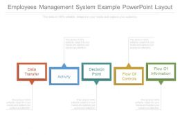 Employees Management System Example Powerpoint Layout