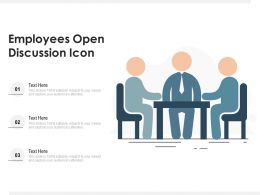 Employees Open Discussion Icon
