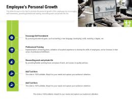 Employees Personal Growth Company Culture And Beliefs Ppt Professional