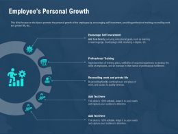 Employees Personal Growth M2586 Ppt Powerpoint Presentation Professional Vector