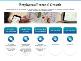 Employees Personal Growth Ppt Powerpoint Presentation Professional Guide