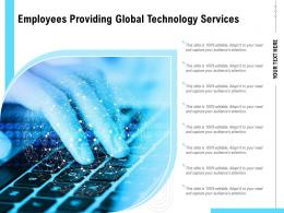 Employees Providing Global Technology Services