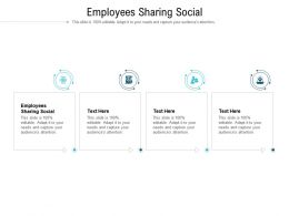 Employees Sharing Social Ppt Powerpoint Presentation Slides Model Cpb