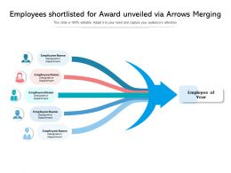 Employees Shortlisted For Award Unveiled Via Arrows Merging