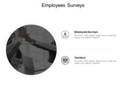 Employees Surveys Ppt Powerpoint Presentation Model Background Cpb
