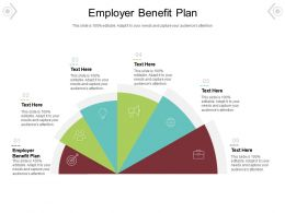 Employer Benefit Plan Ppt Powerpoint Presentation Layouts Visuals Cpb