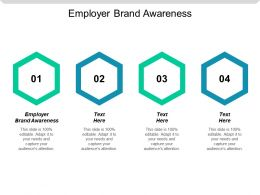 Employer Brand Awareness Ppt Powerpoint Presentation Gallery Designs Cpb