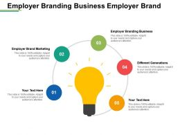 Employer Branding Business Employer Brand Marketing Different Generations Cpb
