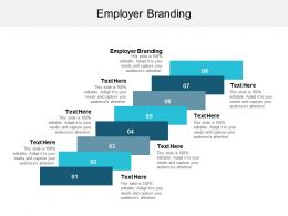Employer Branding Ppt Powerpoint Presentation Show Brochure Cpb