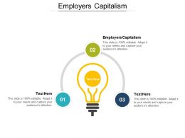 Employers Capitalism Ppt Powerpoint Presentation Gallery Professional Cpb