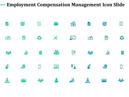 Employment Compensation Management Icon Slide Growth Arrow C401 Ppt Powerpoint Styles