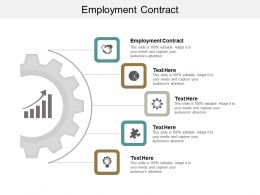 Employment Contract Ppt Powerpoint Presentation Gallery Inspiration Cpb
