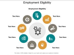 Employment Eligibility Ppt Powerpoint Presentation Gallery Inspiration Cpb