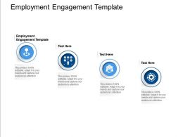 Employment Engagement Template Ppt Powerpoint Presentation Infographic Template Good Cpb