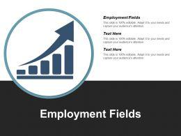 Employment Fields Ppt Powerpoint Presentation File Portfolio Cpb