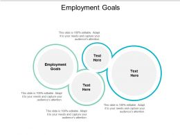 Employment Goals Ppt Powerpoint Presentation Infographic Template Slideshow Cpb
