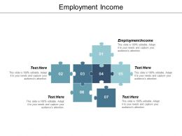 Employment Income Ppt Powerpoint Presentation File Professional Cpb