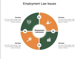 Employment Law Issues Ppt Powerpoint Presentation Gallery Graphics Tutorials Cpb