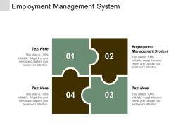 Employment Management System Ppt Powerpoint Presentation Gallery Slides Cpb