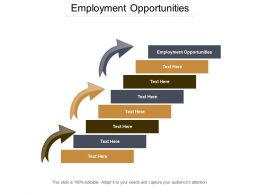 Employment Opportunities Ppt Powerpoint Presentation Gallery Example Cpb