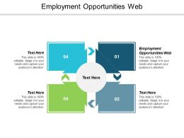 Employment Opportunities Web Ppt Powerpoint Presentation Icon Infographics Cpb