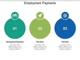 Employment Payments Ppt Powerpoint Presentation Infographic Template Templates Cpb