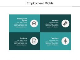 Employment Rights Ppt Powerpoint Presentation Ideas Layouts Cpb