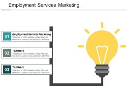 Employment Services Marketing Ppt Powerpoint Presentation Inspiration Clipart Cpb