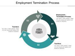 Employment Termination Process Ppt Powerpoint Presentation Portfolio Design Inspiration Cpb