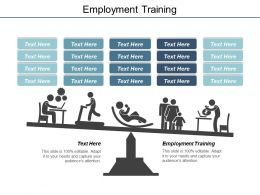 Employment Training Ppt Powerpoint Presentation File Summary Cpb