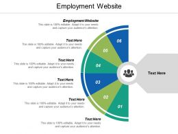 Employment Website Ppt Powerpoint Presentation Gallery Designs Download Cpb