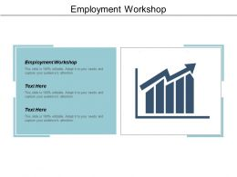 Employment Workshop Ppt Powerpoint Presentation File Visual Aids Cpb