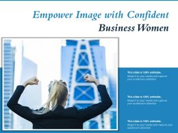 Empower Image With Confident Business Women