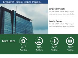 Empower People Inspire People Shared Vision Lead Change