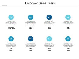 Empower Sales Team Ppt Powerpoint Presentation Summary Layouts Cpb