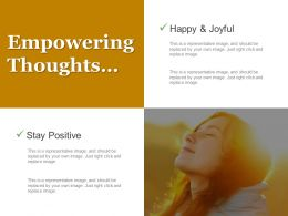 Empowering Thoughts Powerpoint Templates