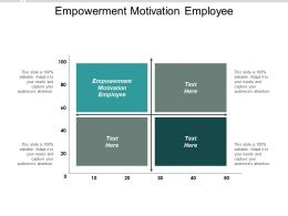 Empowerment Motivation Employee Ppt Powerpoint Presentation Inspiration Designs Cpb