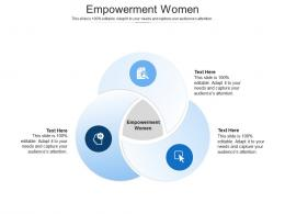 Empowerment Women Ppt Powerpoint Presentation Summary Samples Cpb