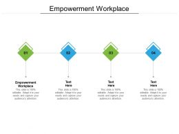 Empowerment Workplace Ppt Powerpoint Presentation Outline Template Cpb