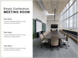 Empty Conference Meeting Room