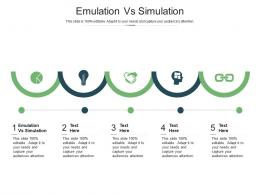 Emulation Vs Simulation Ppt Powerpoint Presentation File Introduction Cpb
