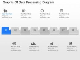 en Graphic Of Data Processing Diagram Powerpoint Template