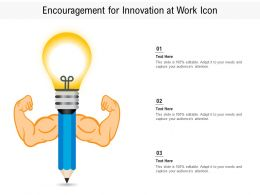 Encouragement For Innovation At Work Icon